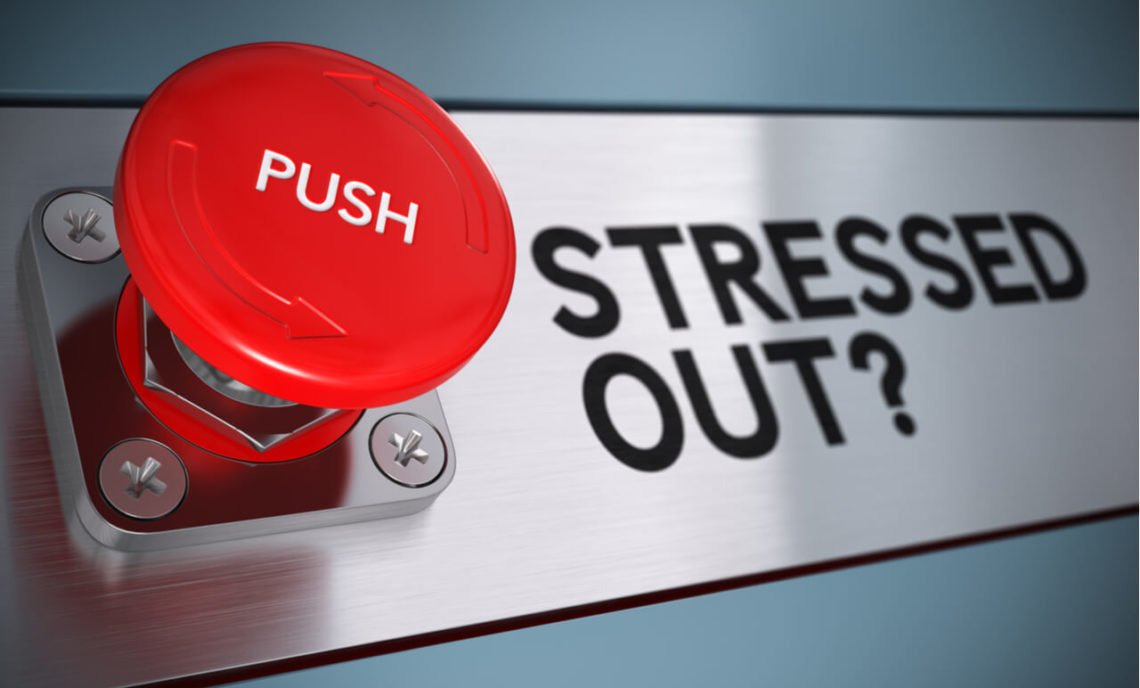 push a button for Stress management activities